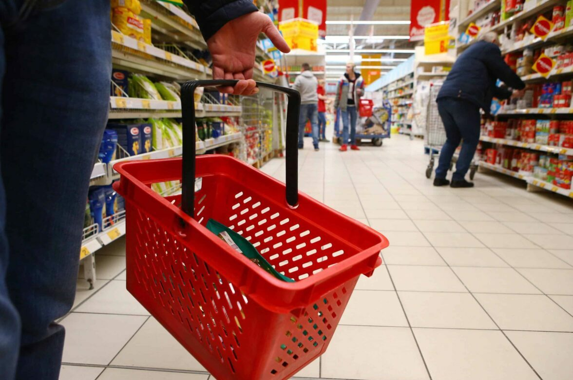 epa06593904 People walk in a hypermarket in Plock, Poland, 10 March 2018. March 11 is the first Sunday on which most shops will be closed in Poland after a law restricting Sunday trading came into effect on 01 March. Under the new legislation, as of March 2018, shopping will only be allowed on the first and last Sunday of the month. EPA/MARCIN BEDNARSKI POLAND OUT