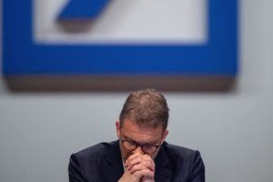 Christian Sewing, chief executive officer CEO Deutsche Bank