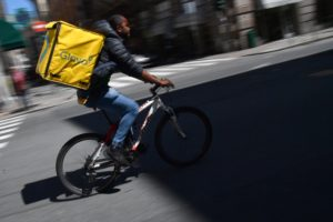 big data food delivery driver