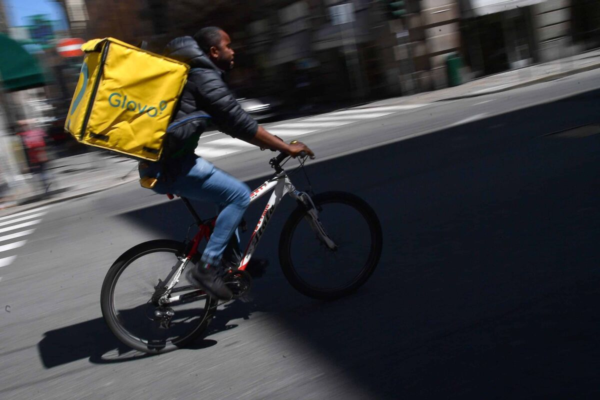 big data food delivery driver rider