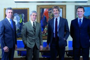 Paolo Luca Guido Barilla e Claudio Colzani