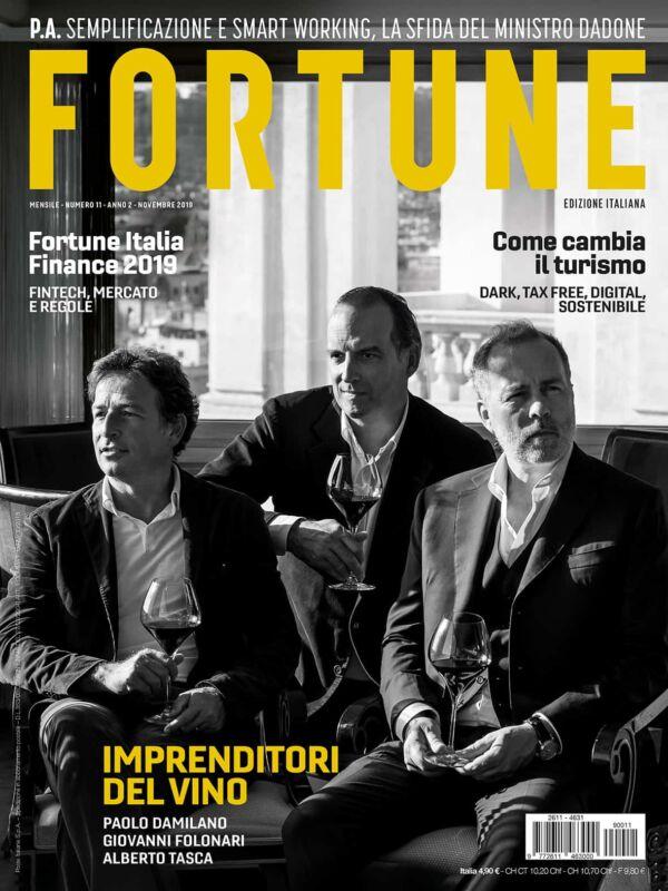 Fortune Italia cover novembre 2019
