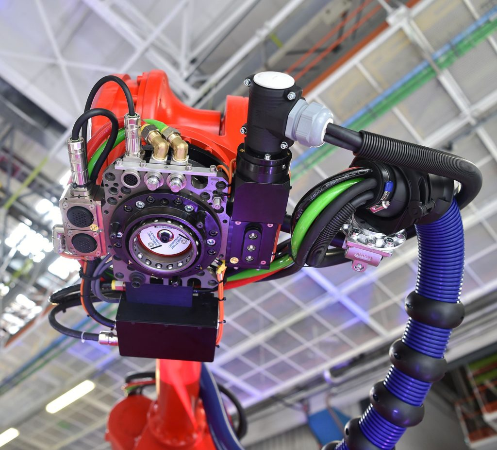 mirafiori robot