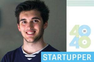 40 UNDER 40 STARTUPPER startup