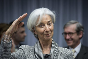christine lagarde bce