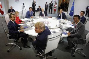 ocse g7 economia trump macron conte merkel abe