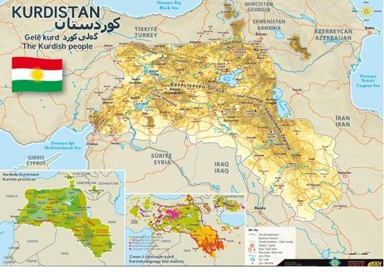 Cartina Kurdistan.I Soldi Dietro La Guerra Turca Ai Curdi Fortune Italia