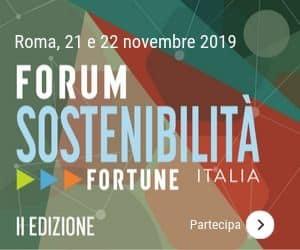 Partecipazioni aperte al Forum Sostenibilità di Fortune Italia