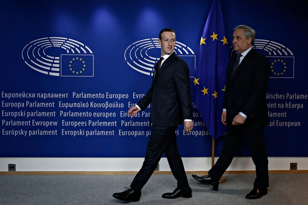facebook zuckerberg tajani tiktok