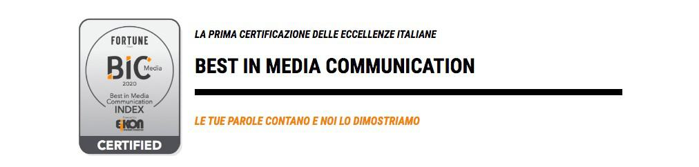 BIC Best in media communication_domenico mancini