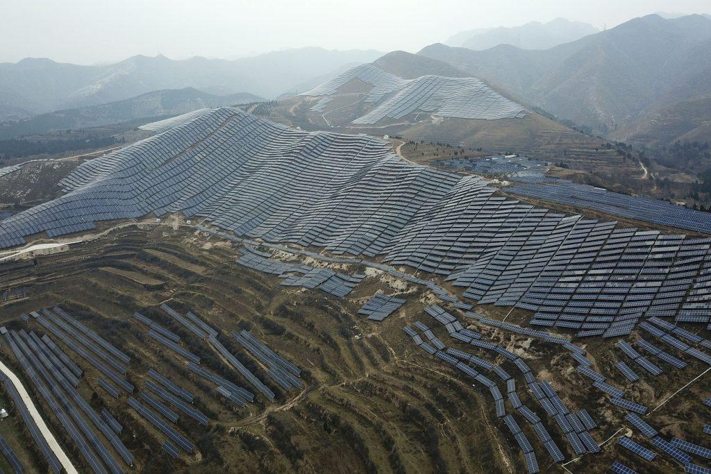 Shanxi cina carbone pannelli solari cop25