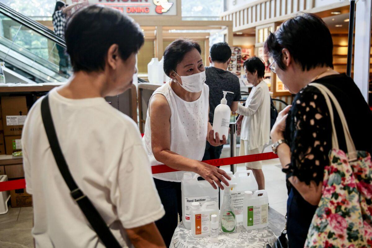 coronavirus singapore eventi conferenze
