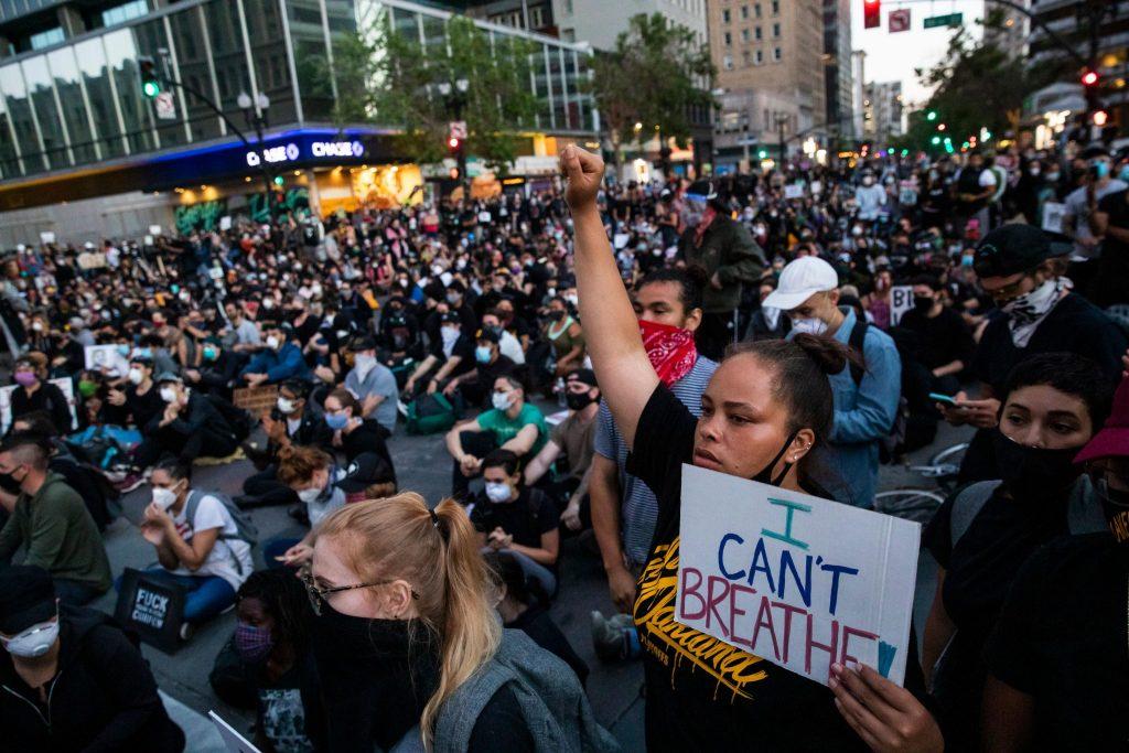 softbank george floyd proteste america