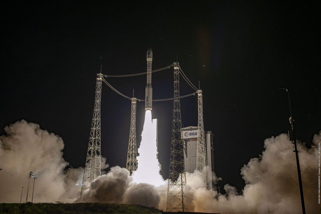 vega esa spazio razzo space economy asi avio