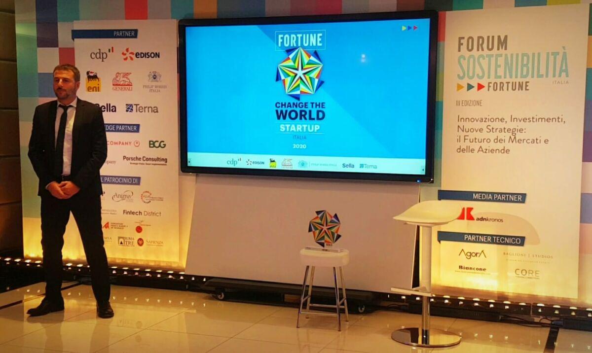 change the world, forum sostenibilità, sostenibilità, startup