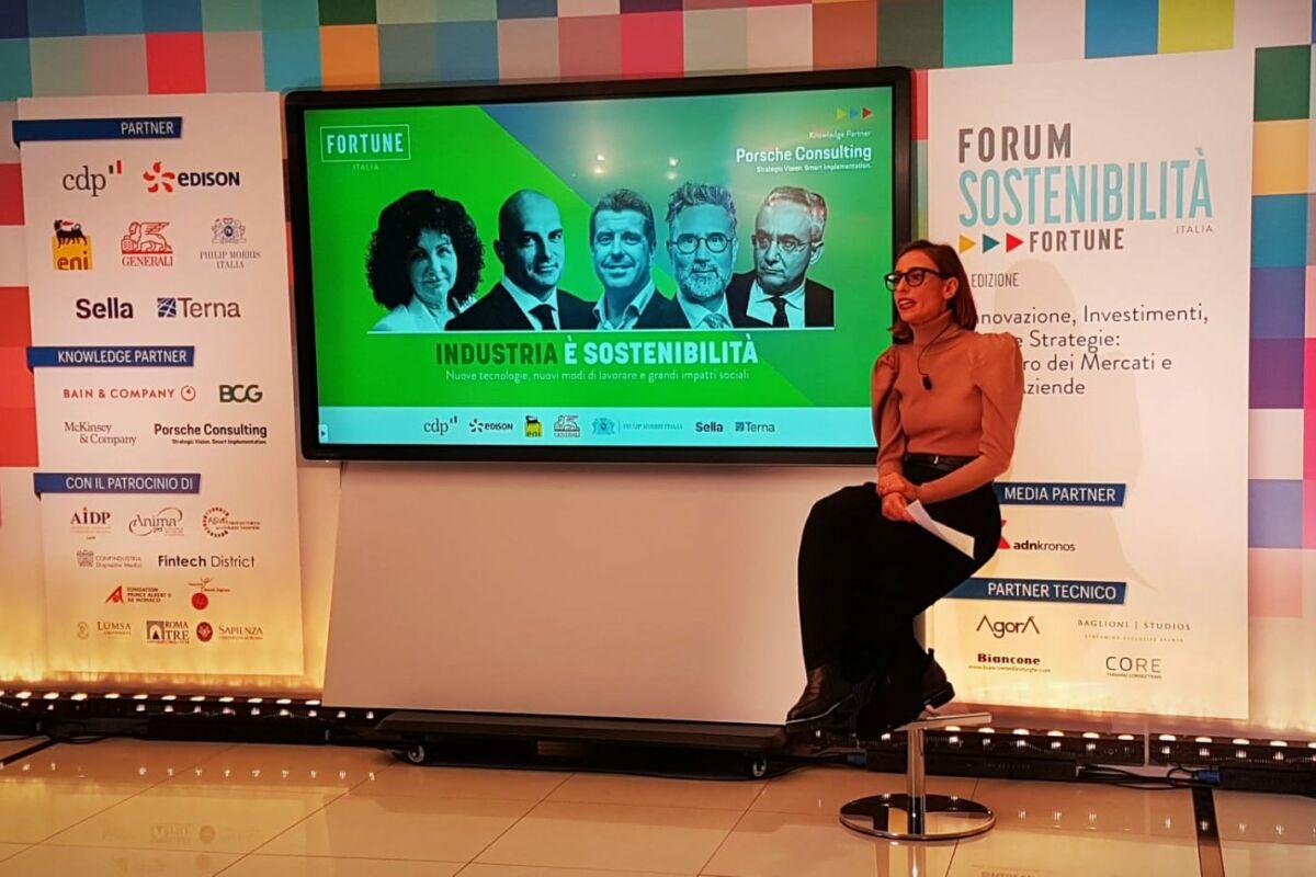 forum sostenibilità, industria