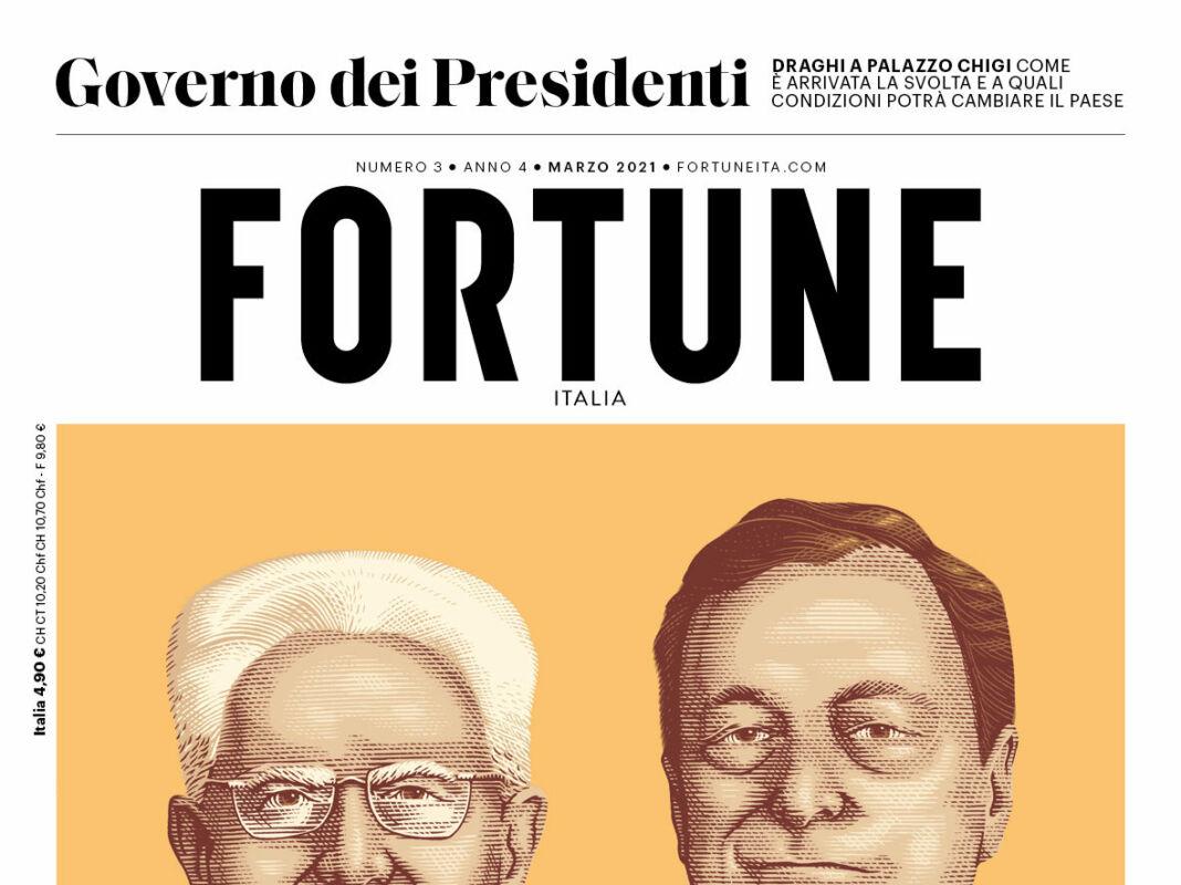 fortune italia copertina cover gverno dei presidenti