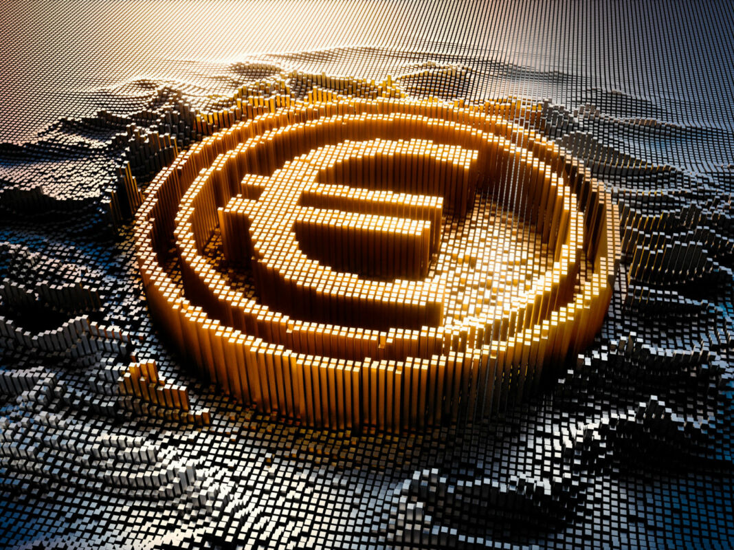 euro digitale blockchain bce