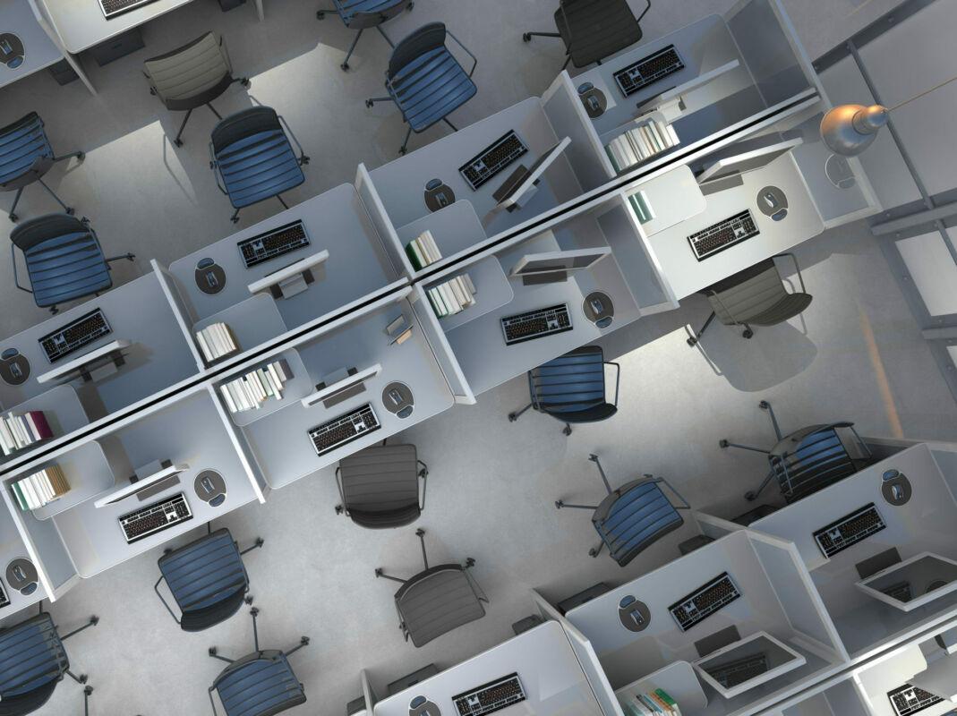 ufficio smart working lavoro
