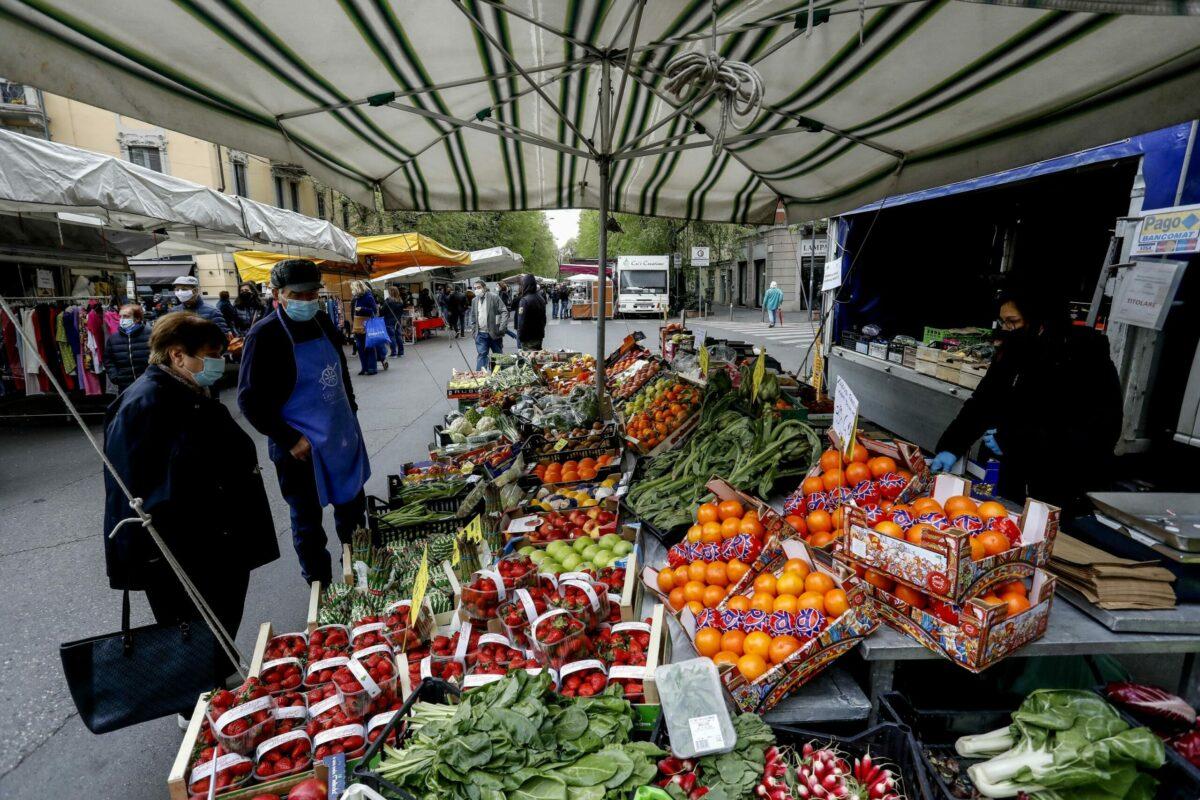 mercato Milano spreco alimentare