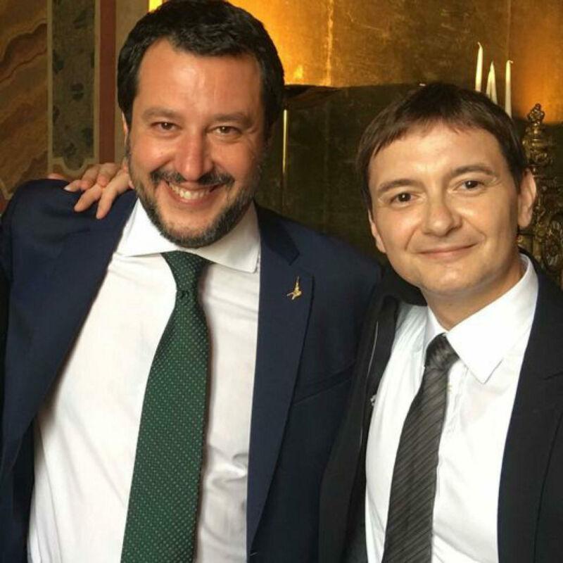 Una foto tratta dal profilo Facebook del leader della Lega Matteo Salvini, Milano, 27 Settembre 2021.FACEBOOK