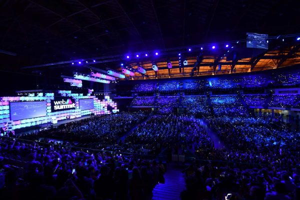 5 November 2018; Antonio Guterres, United Nations Secretary-General, on Centre Stage, during the Web Summit 2018 Opening Ceremony at the Altice Arena in Lisbon, Portugal. Photo by Sam Barnes/Web Summit via Sportsfile