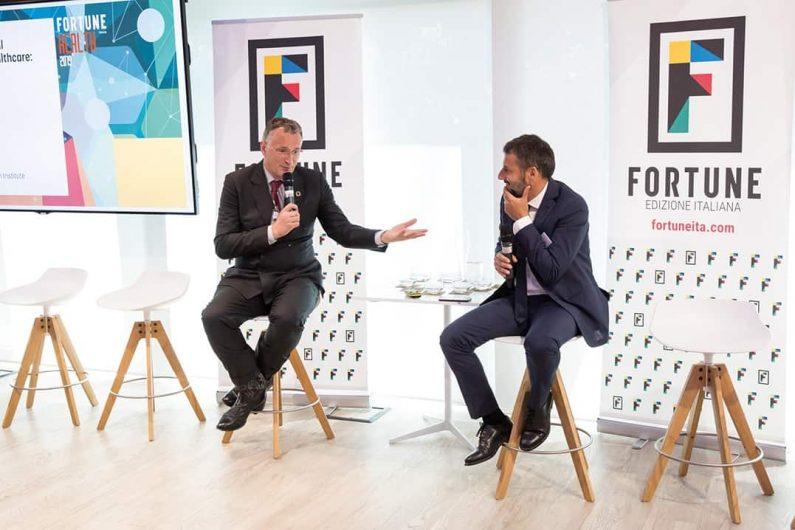 Fortune Health Italia 2019 Mauro Ferrari Fabio Insenga