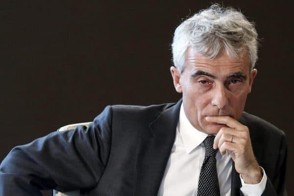 Tito Boeri, presidente dell'INPS, durante la conferenza stampa all'INPS sul reddito di inclusione (REI), Palazzo Wedekind, Roma, 28 marzo 2018. ANSA/RICCARDO ANTIMIANI