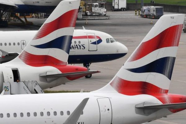 epa05997423 British Airways aircraft stand on their parking positions at Heathrow Airport in London, Britain, 29 May 2017. British Airways (BA) passengers are enduring a third day of delays following a IT meltdown that disrupted 75,000 passengers flights worldwide after BA on 27 May had to cancel flights from London's Heathrow and Gatwick airports due to a major IT failure that cqaused 'severe disruption' to ithe carrier's global operations. EPA/ANDY RAIN