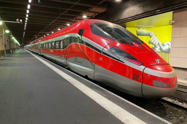 Freccia alla gare Lyon