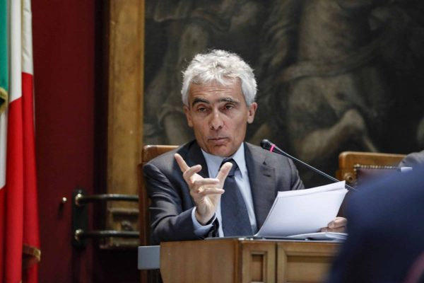 Il presidente dell'Inps, Tito Boeri, in audizione davanti alle commissioni Finanze e Lavoro della Camera, Roma, 19 luglio 2018.ANSA/GIUSEPPE LAMI