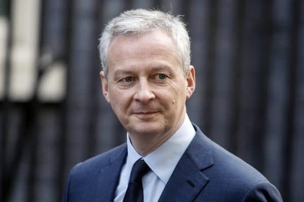 epa06584406 French Finance Minister Bruno Le Maire arrives for a meeting at No. 10 Downing Street in London, Britain, 06 March 2018. EPA/WILL OLIVER