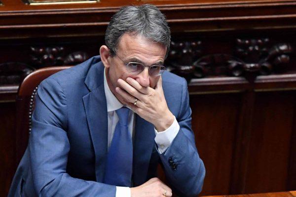 Il ministro dell'Ambiente e tutela del territorio e del mare, Sergio Costa, durante il question time alla Camera, Roma, 20 giugno 2018. ANSA / ETTORE FERRARI