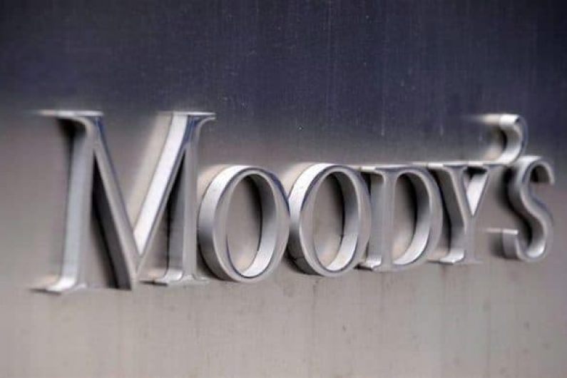 (FILE) A file picture dated 13 July 2011 shows the Moody's logo outside the offices of Moody's Corporation in New York, New York, USA.  ANSA/ANDREW GOMBERT