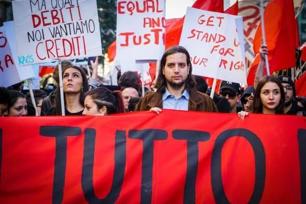 Migranti, precari, studenti delle scuole superiori e delle università, disoccupati: sono stati loro l'anima della