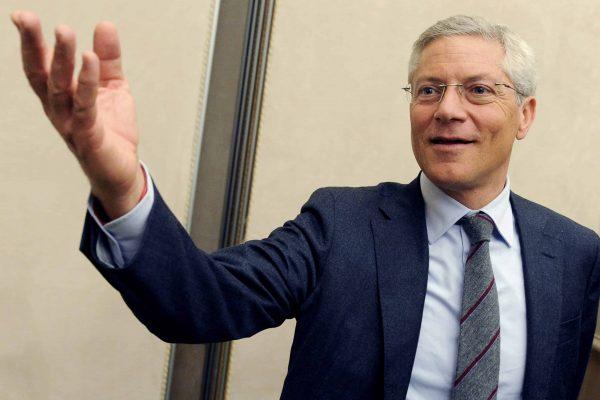Il presidente dell'Antitrust Giovanni Pitruzzella durante un convegno dell'Associazione Antitrust Italiana, oggi 06 marzo 2012 a Roma. ANSA / ETTORE FERRARI