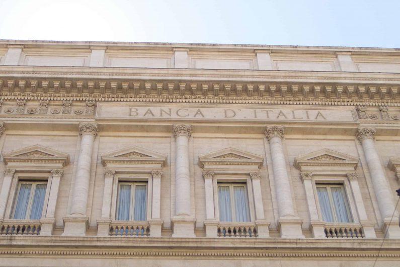 La sede della Banca d'Italia in via Nazionale a Roma, Palazzo Koch, in una foto diffusa dall'ufficio stampa, 24 settembre 2019. ANSA/UFFICIO STAMPA BANCA D'ITALIA ++ HO - NO SALES, EDITORIAL USE ONLY ++