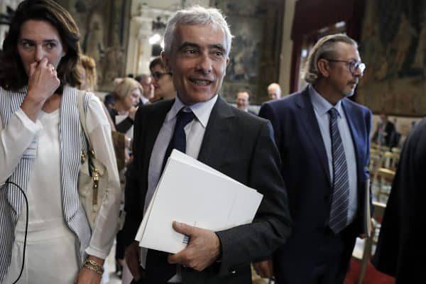Tito Boeri, presidente dell'INPS, durante la relazione annuale dell'INPS, Camera dei Deputati, Roma, 4 luglio 2018. ANSA/RICCARDO ANTIMIANI