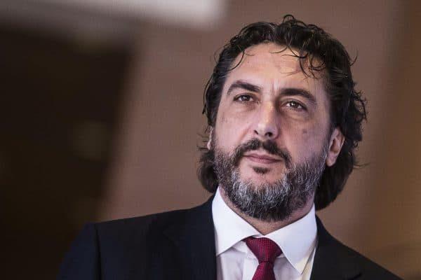 Carlo Cimbri, amministratore Delegato Gruppo Unipol, durante il 39?? Congresso Nazionale di Legacoop, Roma 18 dicembre 2014. ANSA/ANGELO CARCONI