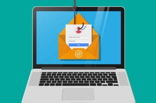 cybersecurity email phishing hacker sicurezza informatica welfare