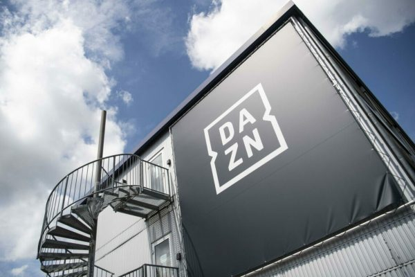 epa08473094 The headquarters of the streaming service DAZN in Ismaning near Munich, Germany, 08 June 2020. The German Football League (DFL) has launched its call for tenders for the media rights for the seasons 2021/2022 to 2024/2025. EPA/LUKAS BARTH-TUTTAS
