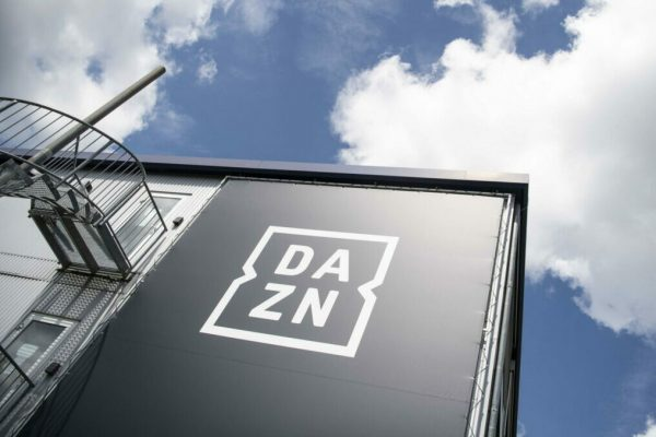 epa08473093 The headquarters of the streaming service DAZN in Ismaning near Munich, Germany, 08 June 2020. The German Football League (DFL) has launched its call for tenders for the media rights for the seasons 2021/2022 to 2024/2025. EPA/LUKAS BARTH-TUTTAS