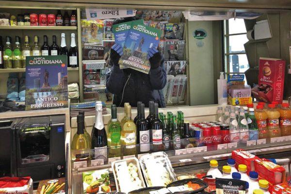edicola milanocard supermarket