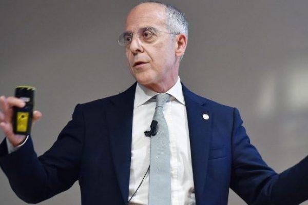 Francesco Starace CEO e General Manager ENEL durante il suo intervento all'incontro