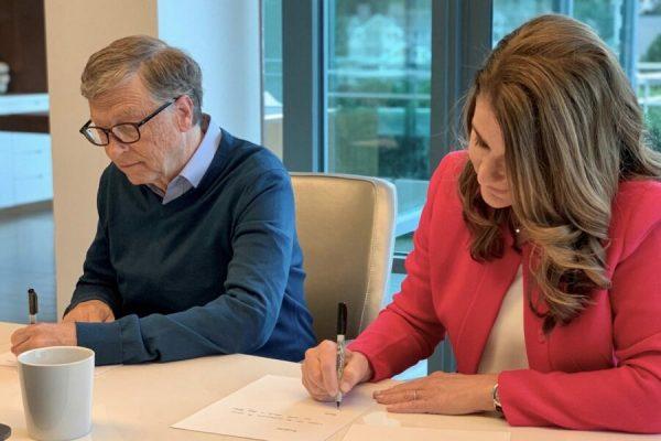Billa Gates e Melinda divorzio