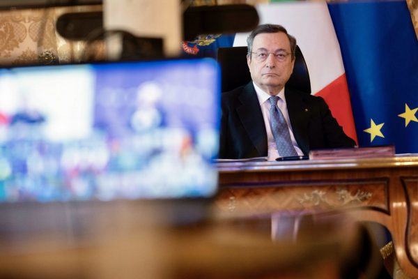 mario draghi governo recovery plan