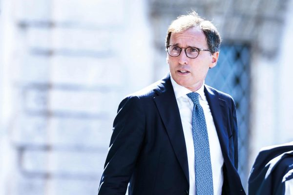 September 5, 2019, Rome, Italy: Francesco Boccia, Minister for Regional Affairs, during the swearing-in ceremony of the Italian government at Quirinale Palace in Rome. (Credit Image: © Cosimo Martemucci/SOPA Images via ZUMA Wire)