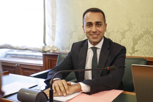 Il ministro del Lavoro Luigi Di Maio durante audizione nelle commisioni riunite Industria e Lavoro del Senato, Roma 11 luglio 2018. ANSA/GIUSEPPE LAMI