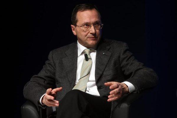 Alessandro Azzi, presidente Federcasse, a Milano in occasione del convegno FABI
