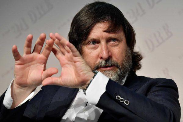 Il presidente di Confindustria Moda, Claudio Marenzi, in occasione del 10/mo Luxury Summit, MIlano, 20 giugno 2018. ANSA/DANIEL DAL ZENNARO